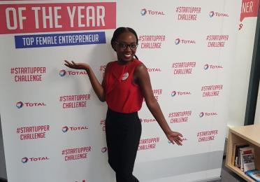 ashleigh female startupper